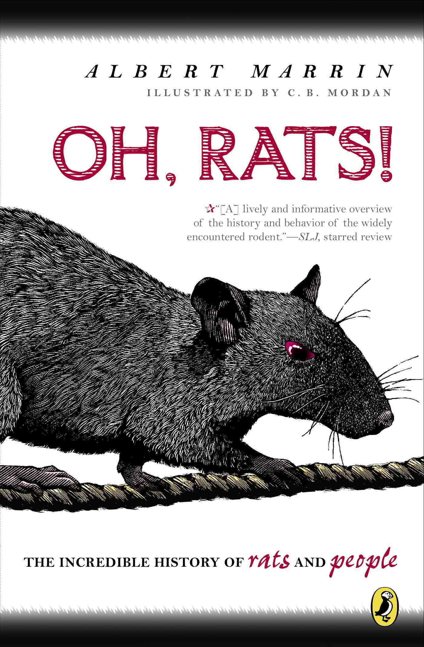 Oh Rats! By Marrin, Albert/ Mordan, C..b. (ILT)